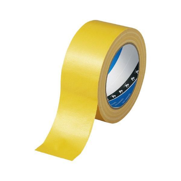 寺岡製作所(1535キイロ)布テープ黄 50mm×25M 0.2厚
