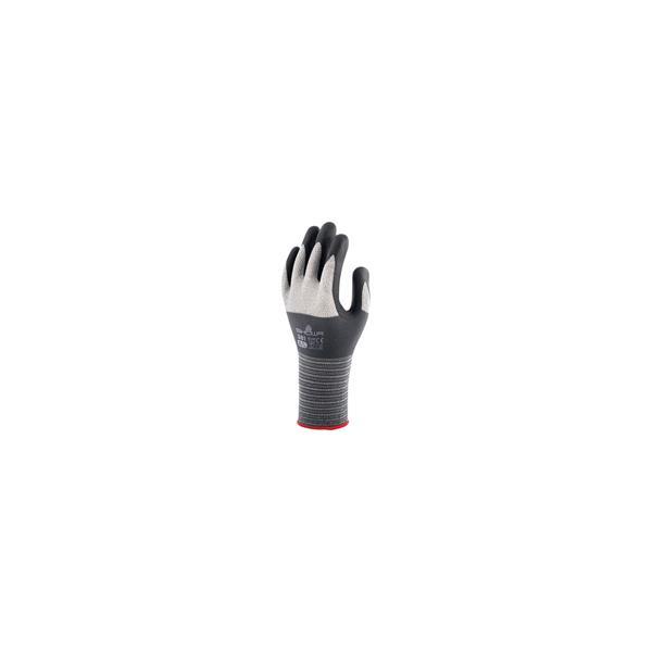 ショーワグローブ(NO381M)No.381 マイクログリップ M グレー 背抜き手袋(ニトリルゴム)