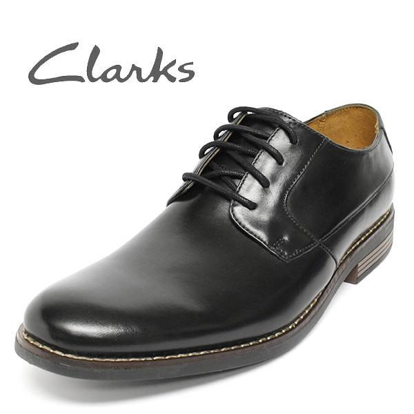 クラークス 靴 メンズ ビジネスシューズ プレーントゥ セール CLARKS Becken Plain