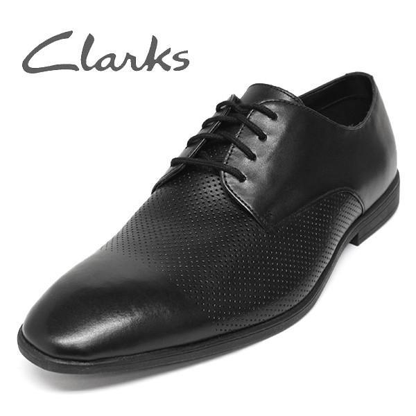 クラークス 靴 メンズ ビジネスシューズ ストレートチップ セール CLARKS Bampton Cap
