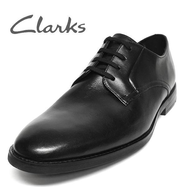 クラークス 靴 メンズ ビジネスシューズ プレーントゥ セール CLARKS Ronnie Walk
