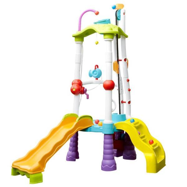 水遊び リトルタイクス ファンゾーン タワークライマー ボール遊び すべり台 室内 屋外 Littletikes 645792 /配送区分B