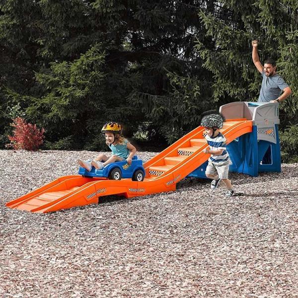 乗用玩具 おもちゃ 乗り物 車 ローラーコースター ホットウィール レール付き 遊具 STEP2 8628 /配送区分C|paranino-formalstyle|04