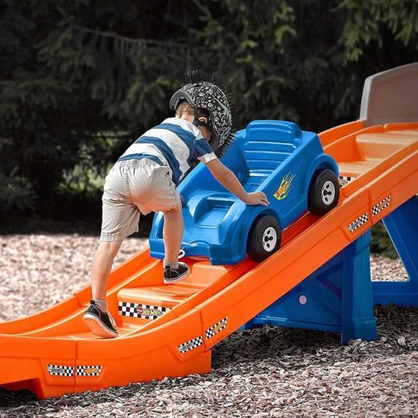 乗用玩具 おもちゃ 乗り物 車 ローラーコースター ホットウィール レール付き 遊具 STEP2 8628 /配送区分C|paranino-formalstyle|06