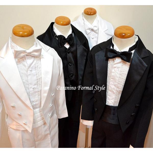 タキシード 子供 男の子 60-130cm ブラック 黒 フォーマル タキシード|paranino-formalstyle|07
