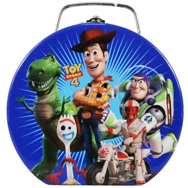 ディズニー トイストーリー ブリキ缶 おもちゃ 収納 缶製 ボックス TIN缶 手持ち 小物入れ 雑貨 キャラクター