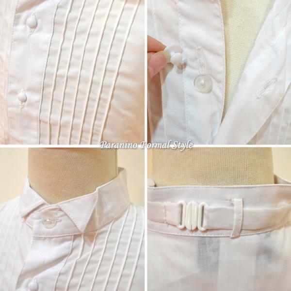 タキシード 子供 男の子 130-160cm ホワイト 白 フォーマル タキシード|paranino-formalstyle|05