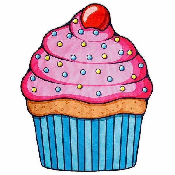増税前SALE/ ビーチブランケットBIGMOUTH カップケーキ ジャイアント 大判 丸型 ビーチマット ビーチラグ BMBT-CC|paranino|07