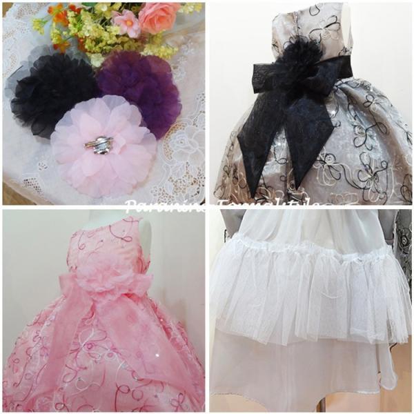 478d1fb0e40ee ... 子供 ドレス フォーマル 女の子 90-150cm ピンク ブラック ローレン paranino 06