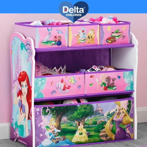デルタ ディズニー プリンセス マルチ おもちゃ箱 子供 3-6歳|paranino|02