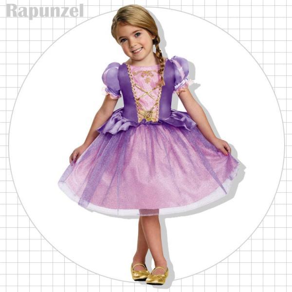 85ac6e16f75c3 エントリーで最大30倍  ディズニー プリンセス ラプンツェル コスチューム ドレス 95-125cm 女の子 ハロウィン ...
