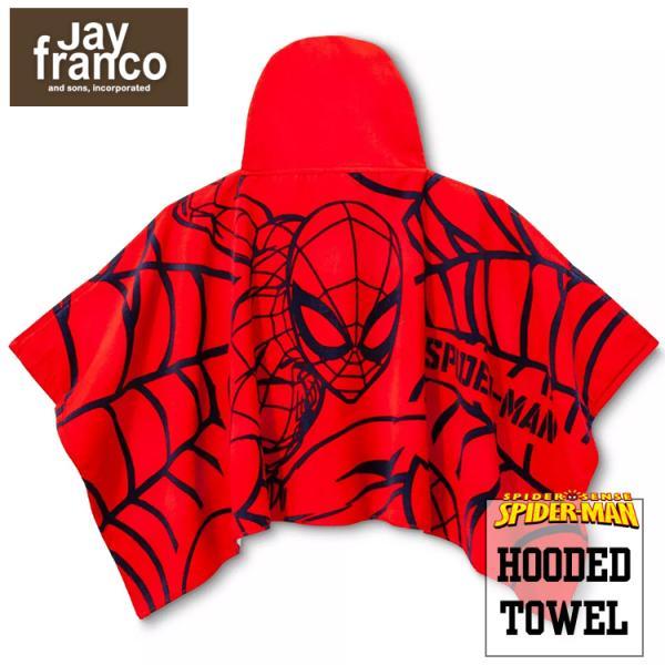 ラップタオル スパイダーマン 巻きタオル フード付き 赤 子供 ビーチタオル バスタオル フード付きタオル スイムタオル