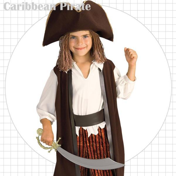 海賊 パイレーツ コスチューム 90-120cm 男の子 ルービーズ ハロウィン 仮装 子供 衣装 コスプレ|paranino