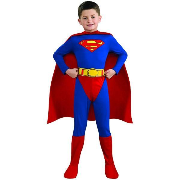 スーパーマン コスチューム 90-160cm 男の子 ハロウィン 仮装 子供 衣装 コスプレ|paranino|05