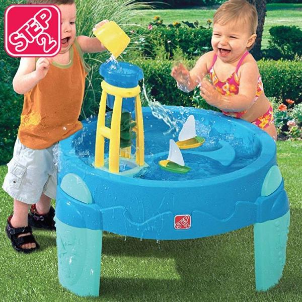 水遊び 遊具 おもちゃ STEP2 ウォーターホイール ウォーターテーブル STEP2 753800 paranino