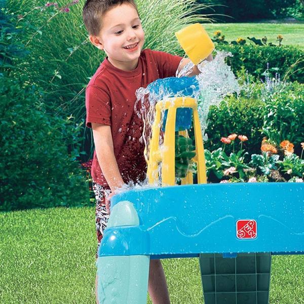 水遊び 遊具 おもちゃ STEP2 ウォーターホイール ウォーターテーブル STEP2 753800 paranino 03