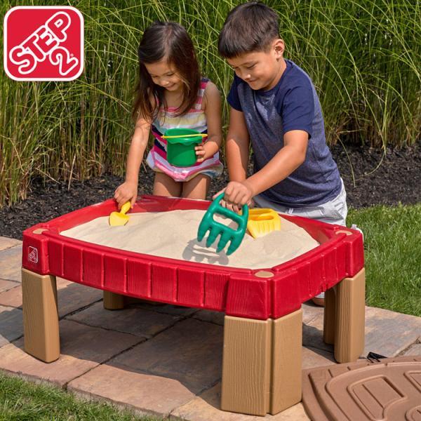 12月20日入荷予約販売/ 砂場 STEP2 サンドテーブル ベランダ 砂あそび 立って遊ぶ /配送区分:大型|paranino