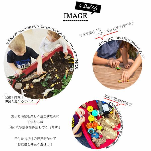12月20日入荷予約販売/ 砂場 STEP2 サンドテーブル ベランダ 砂あそび 立って遊ぶ /配送区分:大型|paranino|06