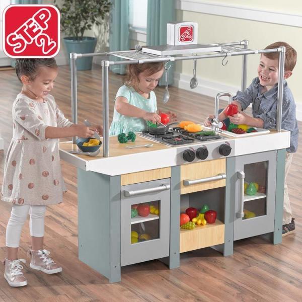ままごと キッチン 木製 アップタウン アーバン キッチン 785900 STEP2 /配送区分A