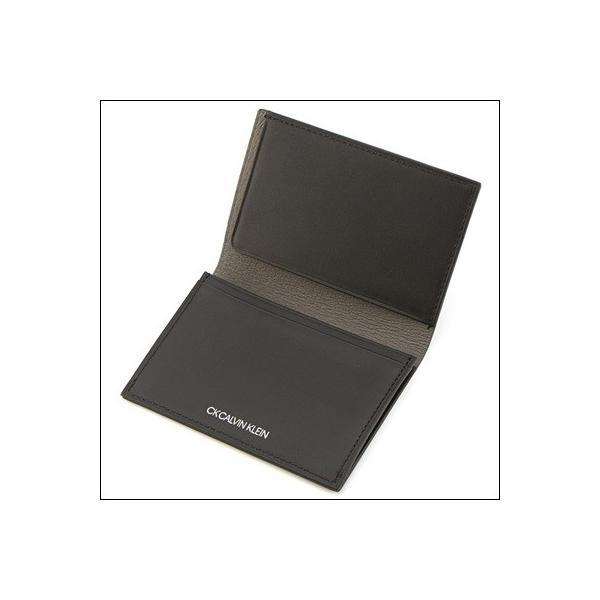 カルバンクライン 名刺入れ ゲイン小物 グレー Calvin Klein PLATINUM ラッピング無料 paris-lounge 03