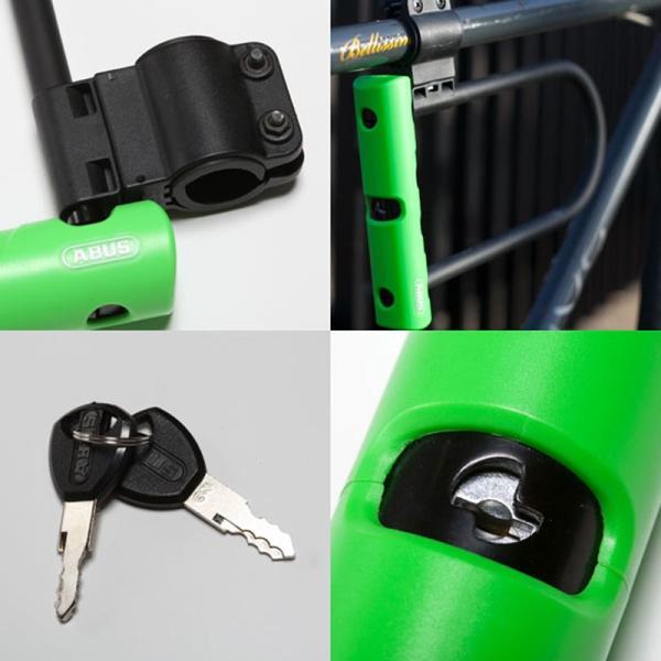ABUS - Ultra Mini 410SH +Cobra U-Locks (150mm)|parksider|03