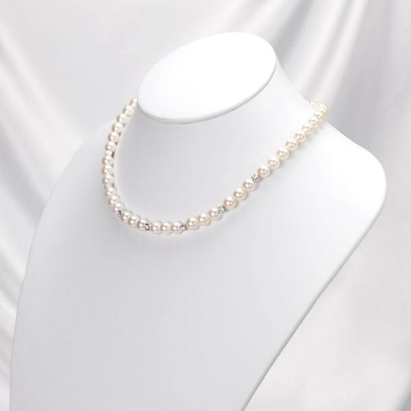 ネックレスレンタル 4日間 真珠 デザイン ネックレスイヤリング ピアスセット 003 あこや パール 往復送料無料|partners-rental|02