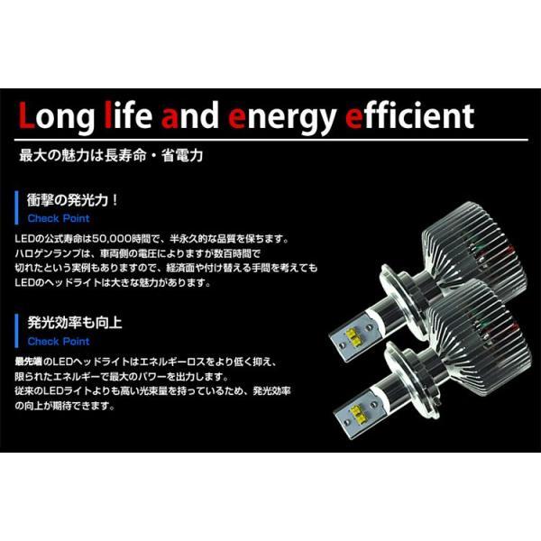 HIDより明るい LED ヘッドライト フォグランプ 9000lm H4 H8 H11 H16 HB4 HB3 送料無料 動画有り|parts-com|04