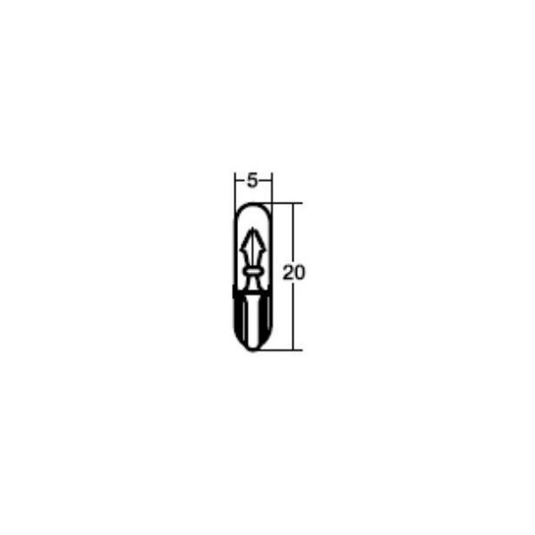 スタンレー 自動車 電球・LED WB574 14V14W  T5 99000-74306-822、09471-12055、34228-SB0-003、4YR-83517-00