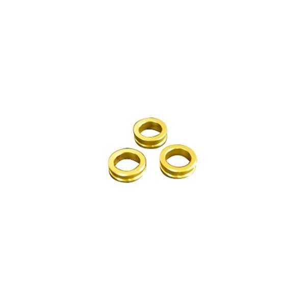 取寄 HSES-GD プラグ変換アダプター ゴールド 6.0/6.5/7.0mm KN企画 ゴールド 1セット(3個入)|parts-department