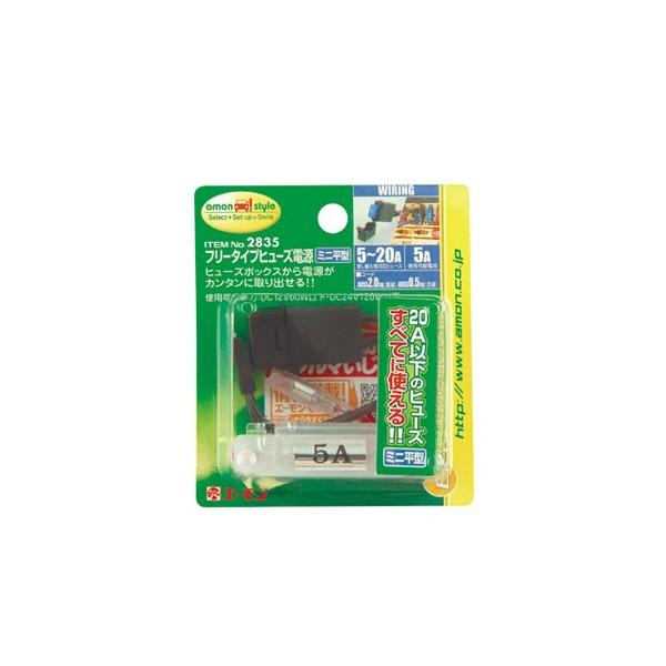 エーモン フリータイプヒューズ電源(ミニ平型) 2835 (送料無料) ポイント消化
