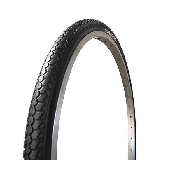 COMPASS(コンパス) 自転車タイヤ 27インチ P1013(B003) 27×1 3/8 WO 1ペア タイヤチューブ各2本セット|partsdirect