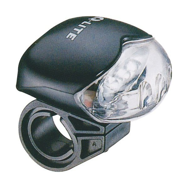 ミニLEDヘッドライト QLITE ブラック 1個 partsdirect
