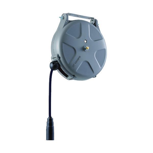 取寄 SHS213SA エアーホースリール(耐スパッタ)内径6.5mm×13m TRIENS(トライア
