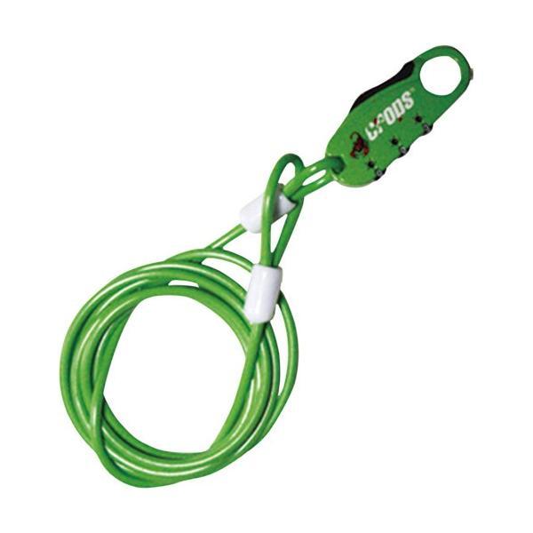 取寄 CP-SPD07-06 CP-SPD07-06 Q ストレートワイヤーロック グリーン crops(クロップス) グリーン 1個|partsdirect