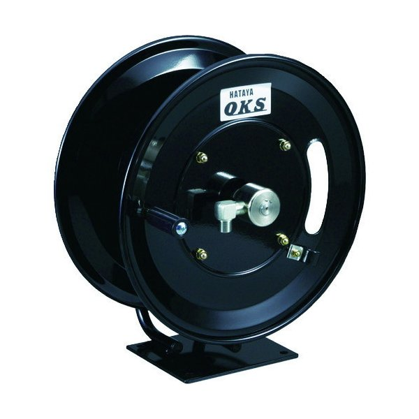取寄 タイプ:固定据置式 HSP12MB 高圧ホースリール 耐圧20.5MPa 手動巻 固定据置キ型(