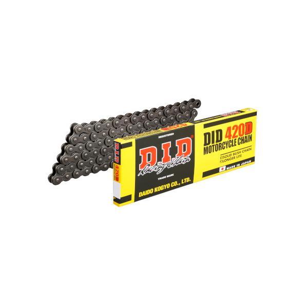 ノンシールチェーン DID420D98 420D-98L 郵政カブC50MD、C110MD(JA10) 標準サイズ DID(大同工業) スチ... partsdirect