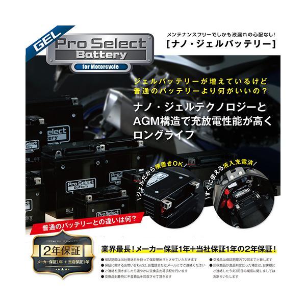 【1個売り】GL-PSZ7S (YTZ7S 互換)(ジェルタイプ 液入充電済)|partsdirect|02