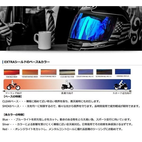 SHOEI CWR-1 ピンロックシールド YAMASHIRO EXTRAシールド|partsonline|03