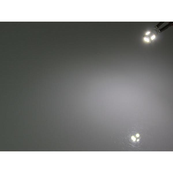 SAMSUNG T10 LED ホワイト 5630smd 6連 12v / 24v トラック トレーラー なども可能 2個セット|partstec|03