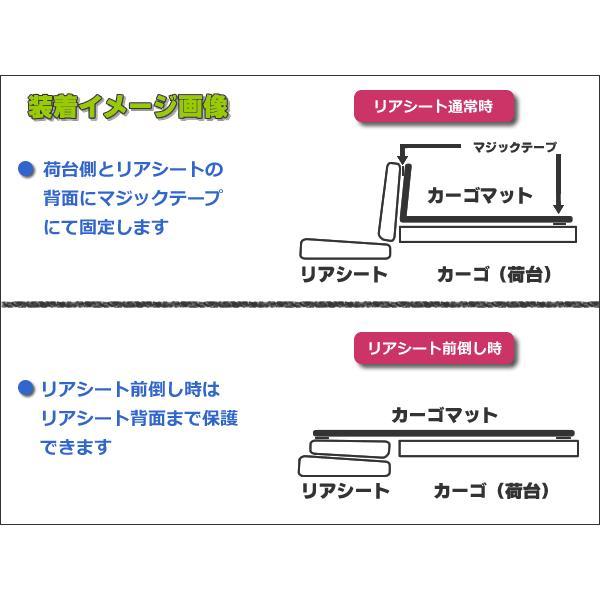 「日本製」 オーダーマット ハイゼットカーゴ S330V S320V S321V カーゴマット ブラック 黒 リバーシブルタイプ 荷台マット 荷台シート 荷室マット|partstec|03