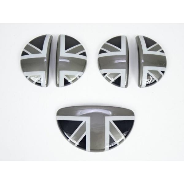 BMW ミニ MINI R60 クロスオーバー ブラックジャック インナードアハンドルカバー ドアノブ グローブボックス カバー