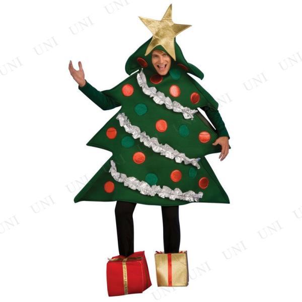 クリスマスツリーコスチューム L 衣装 コスプレ 仮装 大人用 女性用 レディース 爆笑 party-honpo 02