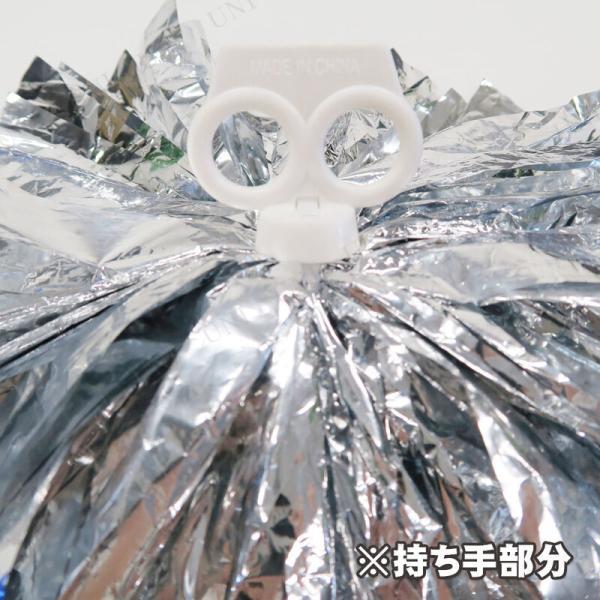 コスプレ 仮装 衣装 ハロウィン チアガールポンポン Patymo エールポンポン(シルバー)|party-honpo|02