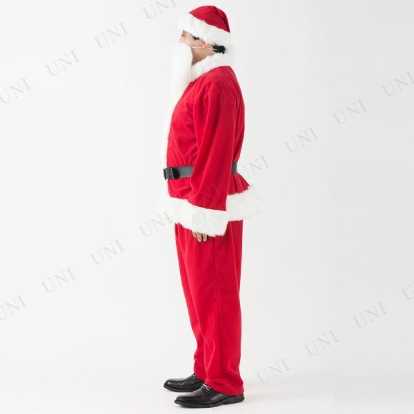 サンタ コスプレ 仮装 衣装 クリスマス 大人用 豪華サンタクロースセット メンズ|party-honpo|03