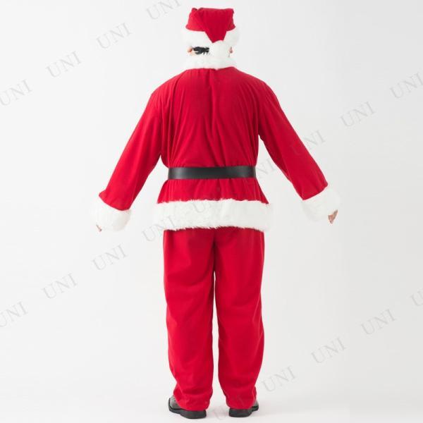 サンタ コスプレ 仮装 衣装 クリスマス 大人用 豪華サンタクロースセット メンズ|party-honpo|04