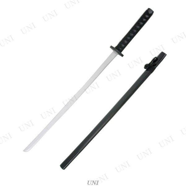 Uniton 日本刀 黒 100cm 木製|party-honpo|02