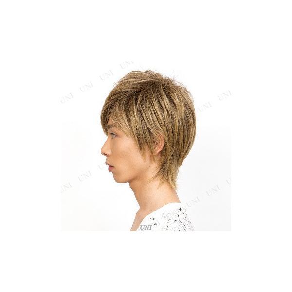 リープウルフ ナチュラルブロンド コスプレ メンズ ファッション かつら フルウィッグ ファッションウィッグ