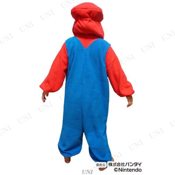 コスプレ 仮装 SAZAC(サザック) フリース着ぐるみ スーパーマリオ マリオ 子供用 130|party-honpo|04