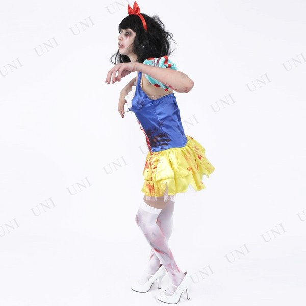ZOMBIE COLLECTION Zombie Snow White (ゾンビ白雪姫) 仮装 グッズ コスプレ 衣装 ハロウィン 大人 女性|party-honpo|03