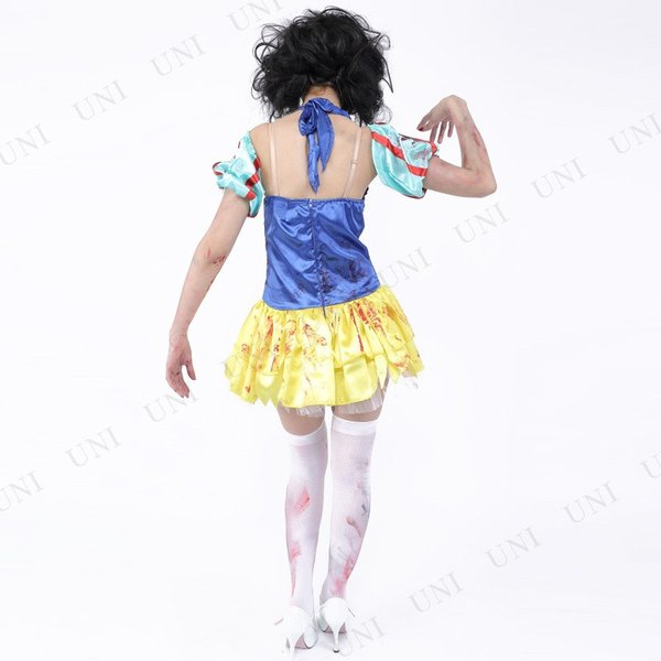 ZOMBIE COLLECTION Zombie Snow White (ゾンビ白雪姫) 仮装 グッズ コスプレ 衣装 ハロウィン 大人 女性|party-honpo|04